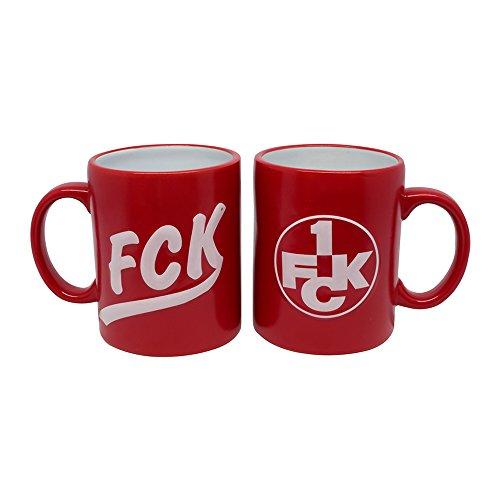 1. FC Kaiserslautern - Tasse Relief rot