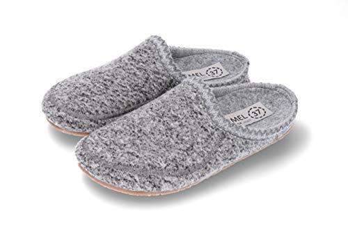 | Wollen Sloffen Voor Dames | Handgemaakt in de EU | Comfort Design en Kwaliteit | Maten: 36-41