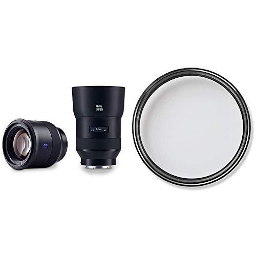 ZEISS Batis 1.8/85 für spiegellose Vollformat-Systemkameras von Sony (E-Mount) & T* UV Filter 67 mm (UV- und Schutzfilter, mit ZEISS T* Anti-Reflexbeschichtung)