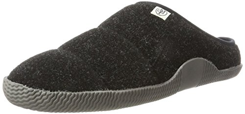 Marc O\'Polo Herren Home Slipper 70924129301601 Pantoffeln, Schwarz (Black), 45 EU