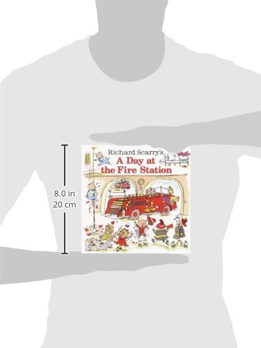 Richard Scarry's A Day at the Fire Station (Pictureback(R)) Mississippi