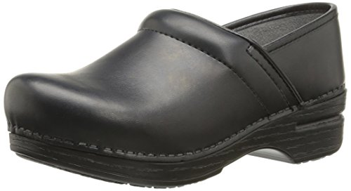 Dansko Women's Pro XP Mule, Black Box, 35 EU/4.5-5 M US