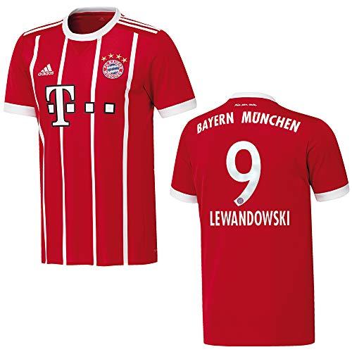 adidas Bayern Trikot Home Herren 2018 - Lewandowski 9, Größe:M