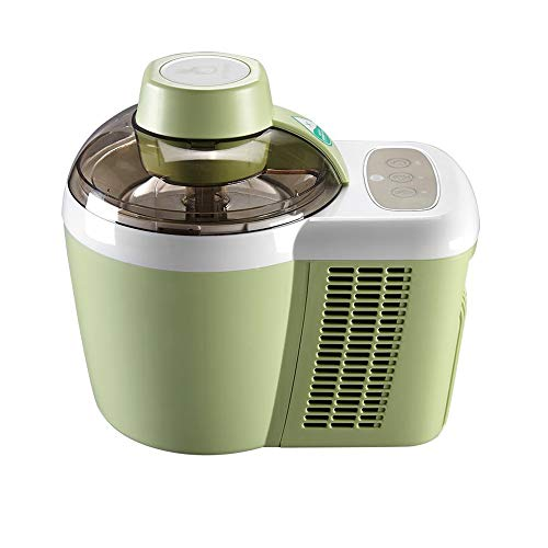 Great Features Of Home Use Automatic Ice Cream Machine 600ML DIY Fruit Ice Cream Machine Double Insulation Ice Cream Machine with Detachable Mixing Paddles,Green