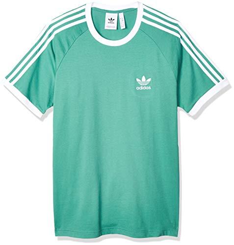 adidas 3-Stripes tee Camiseta de Manga Corta, Hombre, Future Hydro f10, M