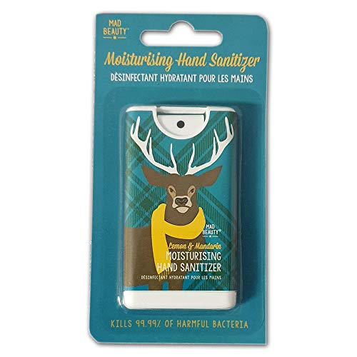 Mad Beauty Scottish Stag Moisturising Hand Sanitizer Spray