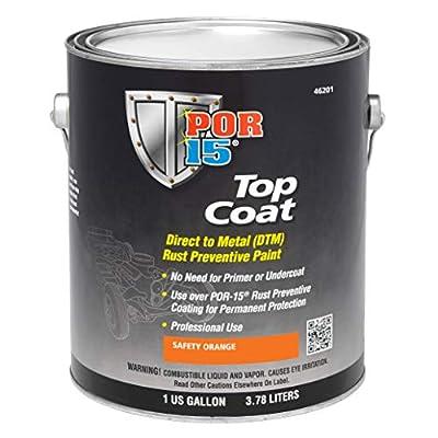 POR-15 45904 Top Coat Chassis Black Paints