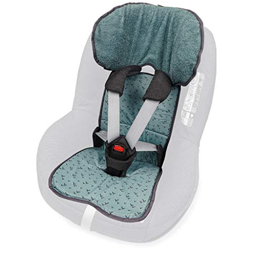 PRIEBES FELIX Sitzauflage für Autokindersitz Gruppe 1 | Universal Sitzeinlage für Kindersitze | Schonbezug 100{732deb0bb98c5a3a02cfba47ea3506907037edeff98bcec9c76a7769aaac15c2} Baumwolle | waschbar & atmungsaktiv |beidseitig verwendbar