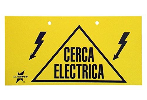 Llampec SEN000001 Señal cerca eléctrica