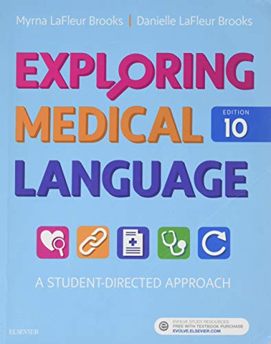 Compare Textbook Prices for Exploring Medical Language: A Student-Directed Approach/Medical Terminology Flash Cards 10 Edition ISBN 9780323396455 by LaFleur Brooks RN  BEd, Myrna,LaFleur Brooks MEd  MA, Danielle