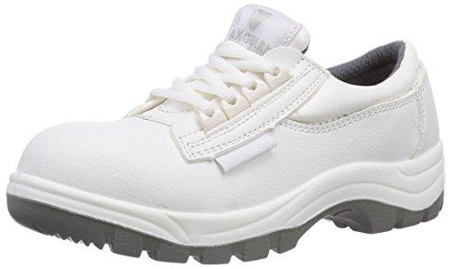 Maxguard W330, Unisex-Erwachsene Sicherheitsschuhe, Weiß (weiß), 45 EU