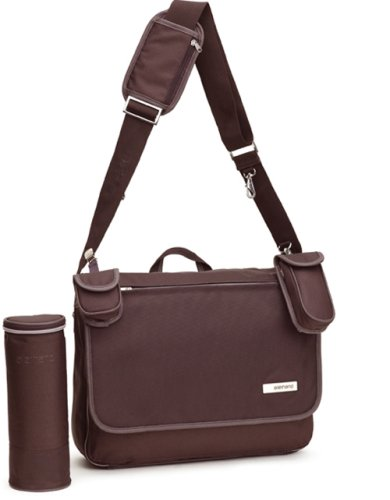 Allerhand AH-MB-MB-03 09 - Modern Basic Messenger Bag Chocolate Brown - Wickeltasche