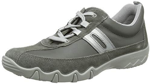 Hotter Leanne Extra Wide, Zapatillas Mujer, Gris (Urban Grey Multi 387), 36 EU