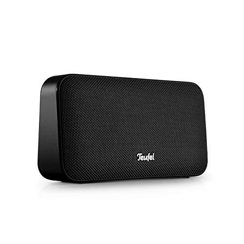 Motiv GO Night Black - portabler Bluetooth-Stereo-Speaker mit Strahlwasserschutz IPX5