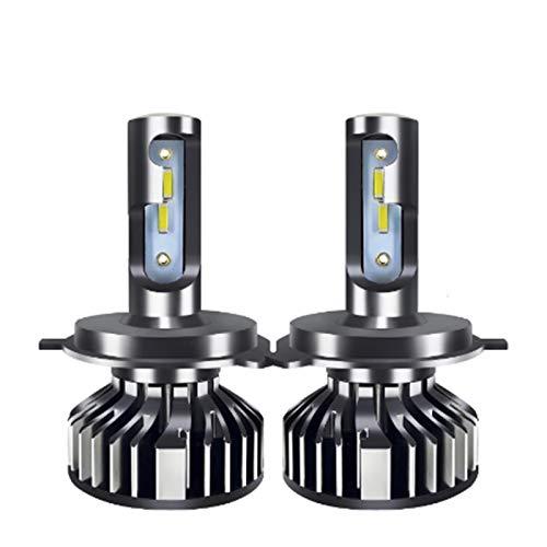 GCS Gcsheng Ajuste para Baishide Coche Lights H4 LED H7 20000LM H11 Lámpara LED para Bombillas De Faro del Automóvil H1 H8 H9 9005 9006 HB3 HB4 Turbo H7 LED Bulbs 12V 24V