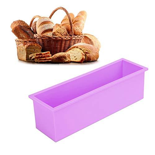 Stampo per toast Stampo per sapone facile da sformare 1200ML per cioccolato(purple)