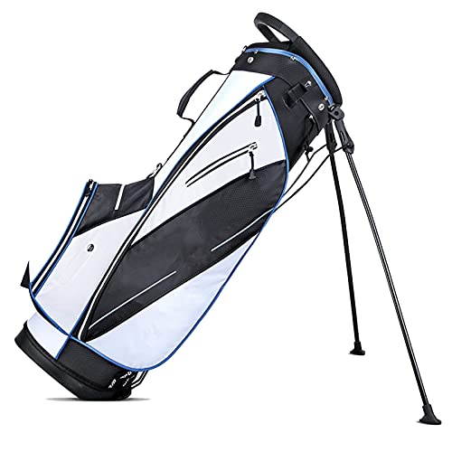 Bolsas de Golf Nylon Base de plástico de Alta dureza Bolsa de Soporte de Golf, Bolsa de Soporte de Golf para Hombres y Mujeres Soporte portátil Edición ultraportátil