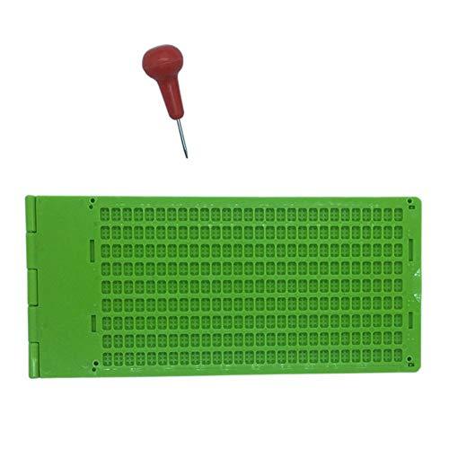 Skyiy 9 líneas, 30 celdas, 4 líneas, 28 celdas, 27 líneas, 30 celdas, braille, pizarra con lápiz capacitivo 🔥