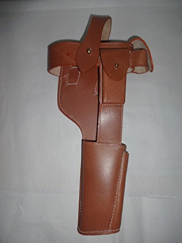 warreplica Deutsche C96 Broomhandle Mauser Holster Tan Lichtfarbe - Reproduktion