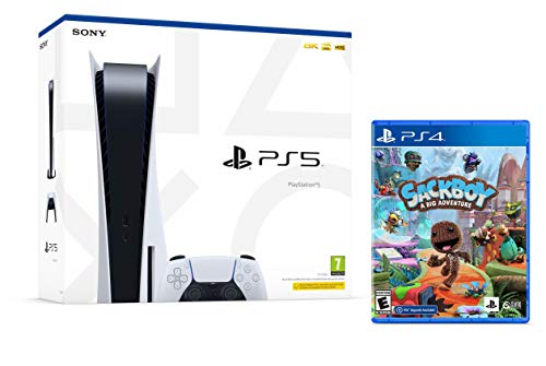 PS5 Consola Sony PlayStation 5 - Standard Edition, 825 GB, 4K, HDR...