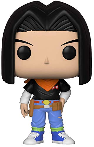 LAST LEVEL- Funko 17 Figura Pop Dragon Ball: C17 Android, Multicolor, Talla única (FFK36398)