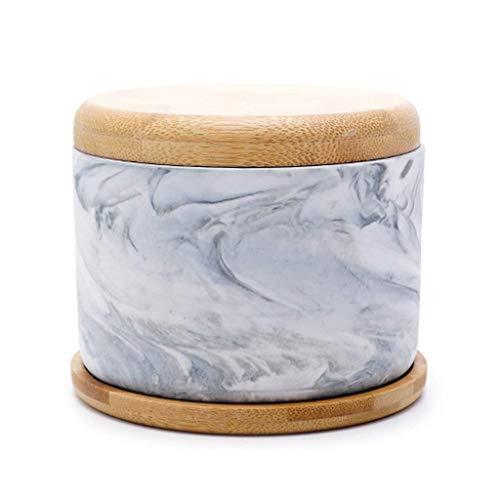 Este es un cenicero con una mano de obra exquisita Home AshTray Cenicero con tapa, forro limpiador de acero inoxidable, cenicero creativo simple para cigarrillos, cerámica, decoración, regalo, bandeja