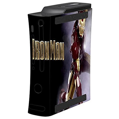 VINILOL Vinilo para Xbox 360 pegatina cubierta Ironman skin para consola.