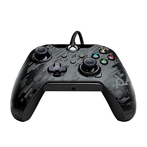 PDP Controller mit Kabel für Xbox Series X In Tarn schwarz [