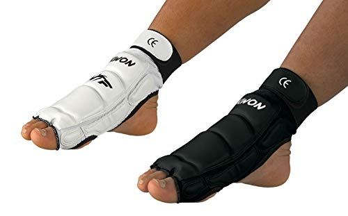 Taekwondo Fußschützer CE weiß oder...