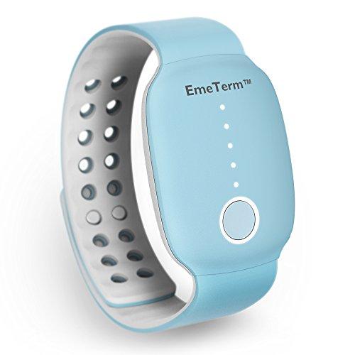 EmeTerm Antiemetic Electrode Stimulator Morning Sickness Motion Travel Sickness Nausea Vomit Relief...