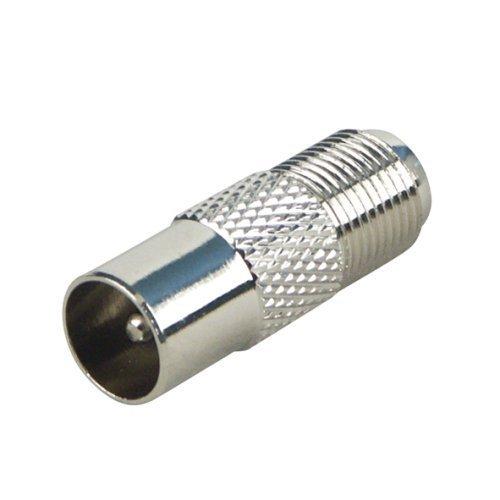 Senmubery adaptadores coaxiales, Conector IEC (Antena) al Enchufe de F