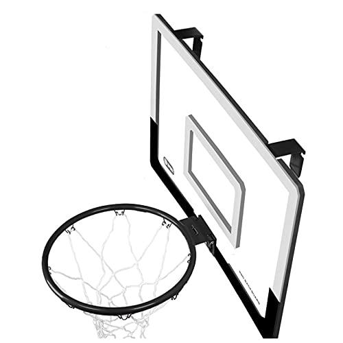 Canasta de baloncesto Montaje de Pared al Aire Libre del Aro de Baloncesto, Tablero de Baloncesto Portátil para Puerta y Pared, para Adolescentes/Adultos Ejercicio (Color : Large)