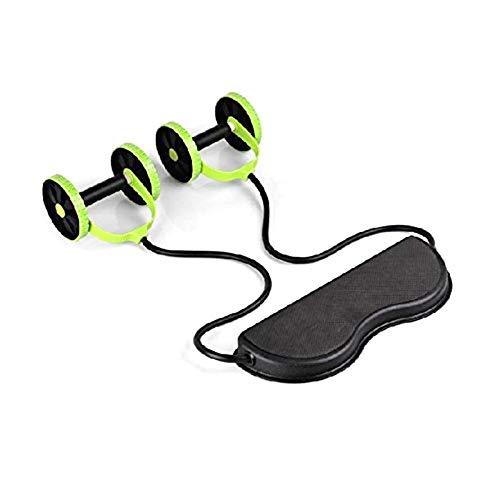 Insmartq - Rodillo de entrenamiento para abdominales (doble rueda)