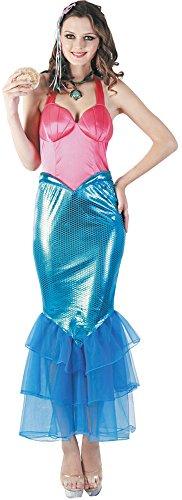 Party Pro - Disfraz de sirena, Womens, 872655, M/L