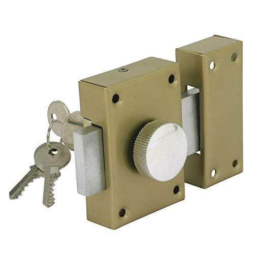 Cogex 80804 - Cerradura de seguridad (con pomo interior)