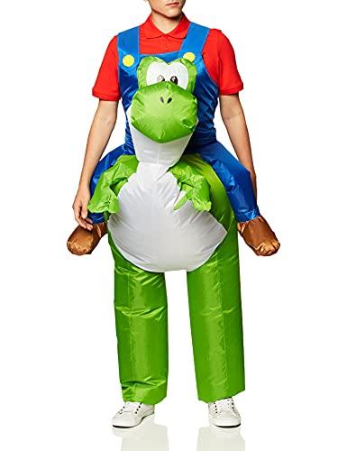 Disguise Men's Mario Riding Yoshi Adult Costume,...
