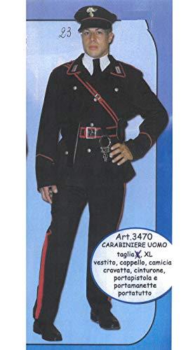 Costume Vestito Carabiniere Uomo 3470 - Taglia XL (23)