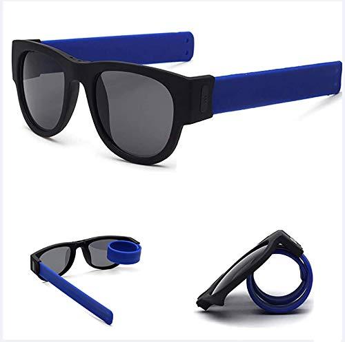 HFSKJWI Gafas De Sol Plegables De Estilo Plegable,Protección UV400 Gafas De Sol Casuales Polarizadas: Gafas De Natación para Niños Adultos De Alta Gama Envolventes