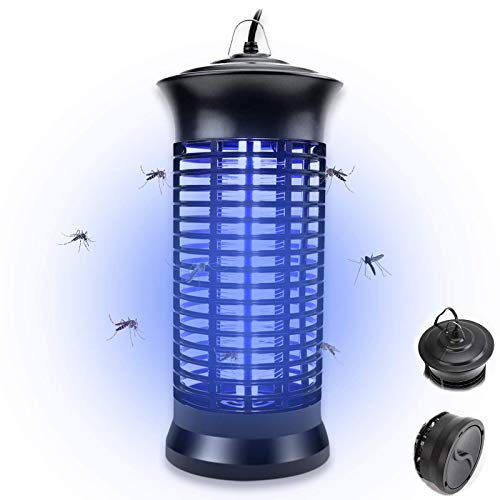 Bug Zapper,Electric Mosquito Zappers/Killer - Insect Fly Trap, Powerful Insect Killer,Mosquito lamp, Electronic UV Lamp for for Indoor, Child,Electronic Light Bulb Lamp for Backyard, Patio