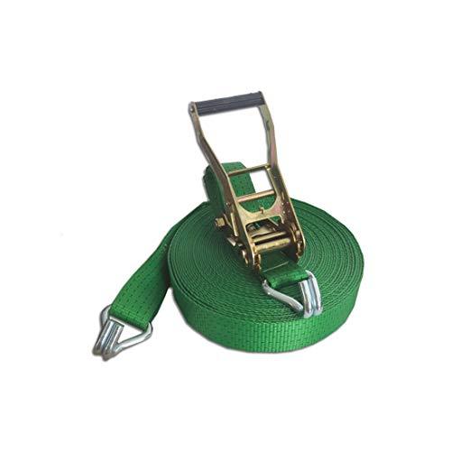 Trupa spanband 5to 20m 50 mm / 2-delig Ergo-ratel EN 12195-2 2500/5000 daN groen
