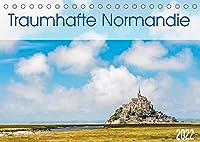 Traumhafte Normandie (Tischkalender 2022 DIN A5 quer): Lassen Sie sich von der Normandie in Frankreich verzaubern. (Monatskalender, 14 Seiten )