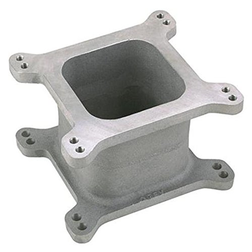 Aluminum 4-Barrel Carburetor Spacer, 4 Inch