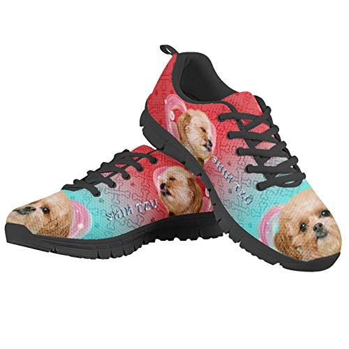 Agroupdream Teenage - Zapatillas deportivas transpirables para mujer, talla 34-44, color Rosa, talla 43 EU