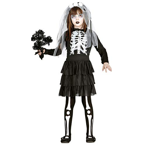 Guirca 85799 - Skeleton Bride Infantil Talla 7-9 Aos