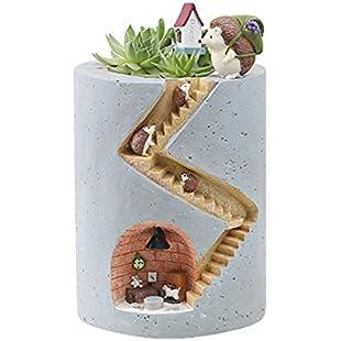 90S Hedgehog' s Home Flowerpot Creative Plant Pot