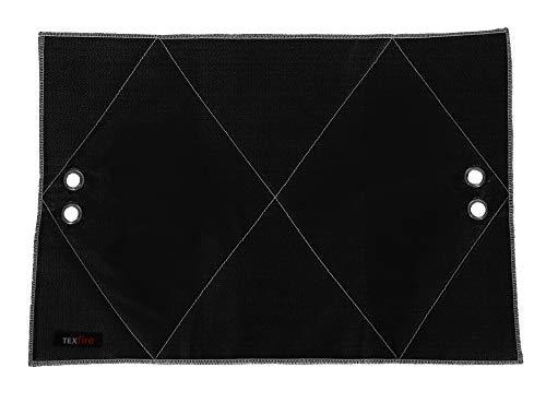 100/x 150/cm noir Masso 231480/Tapis ignifuga