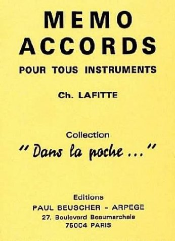 Partition : Memo accords pour tous instruments
