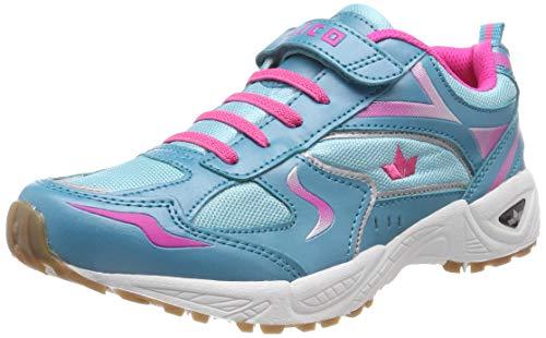 Lico Mädchen BOB VS Multisport Indoor Schuhe, Blau (Tuerkis/Pink Tuerkis/Pink), 27 EU