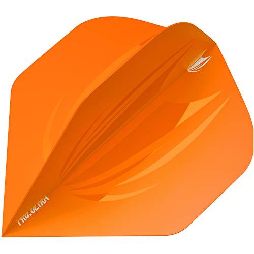 Target Darts Ultra-15 5 x Sets of ID Pro. Ultra Orange Dart Flights-15 in Total, No.2