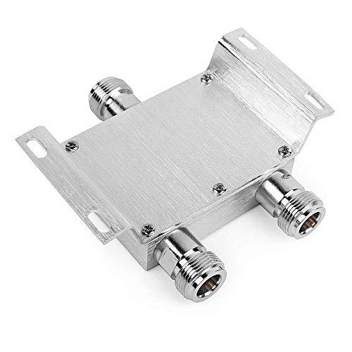 2 Voies Power Splitter Répartiteur de Puissance, Distributeur 380-2700MHz N-Femelle pour Booster/Amplificateur/Répéteur